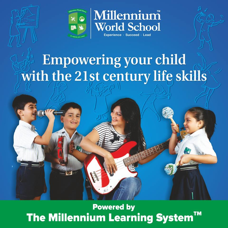 Millennium World School, catering to skill-based education in India